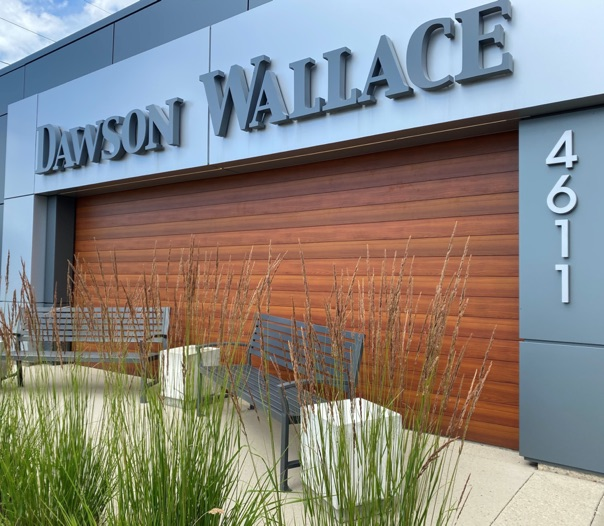 Outside shot of the Dawson Wallace Head Office