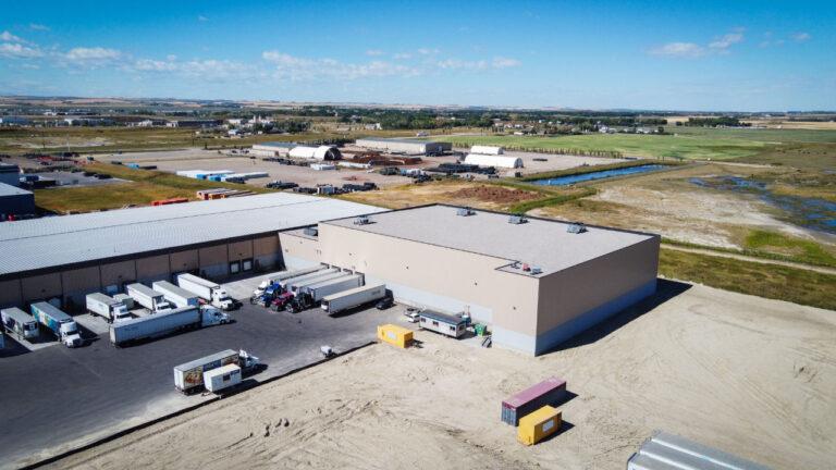 Pratts Food Service Freezer Expansion